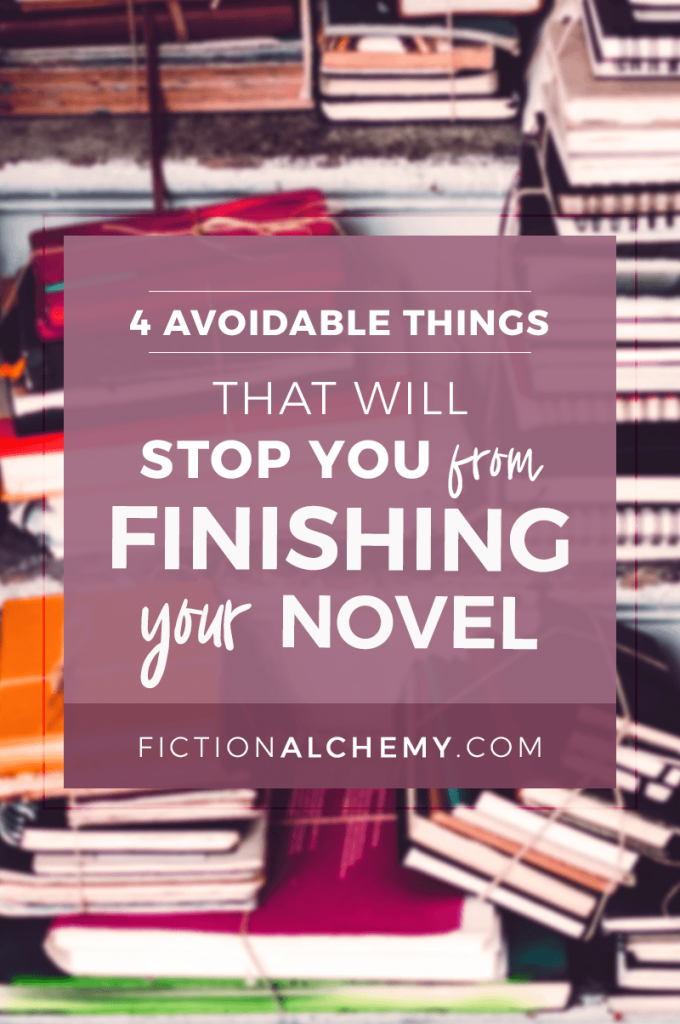 There are four small changes that can take you from being a writer who plugs away at a book for several years to an author who actually finishes your novel. The fourth one might surprise you the most. | FictionAlchemy.com