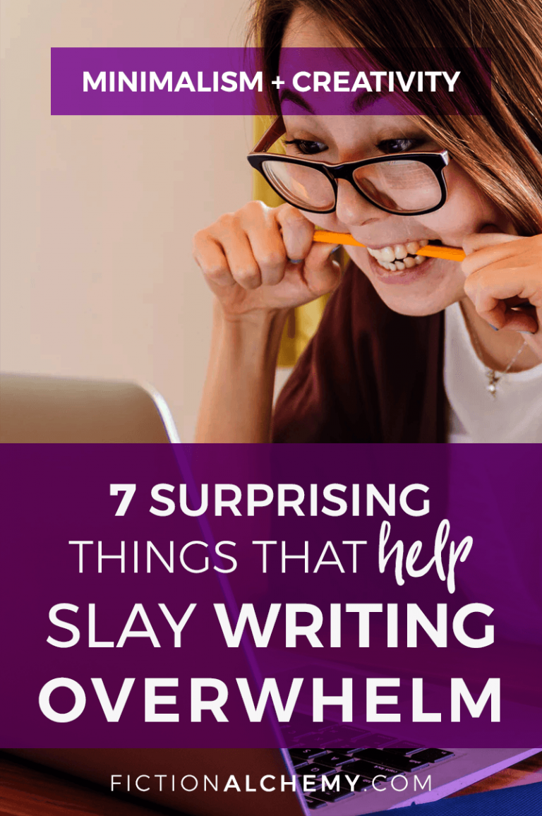 Writers know all about being overworked and overwhelmed! But you can slay writing overwhelm with these 7 surprising (and non-writing!) changes!