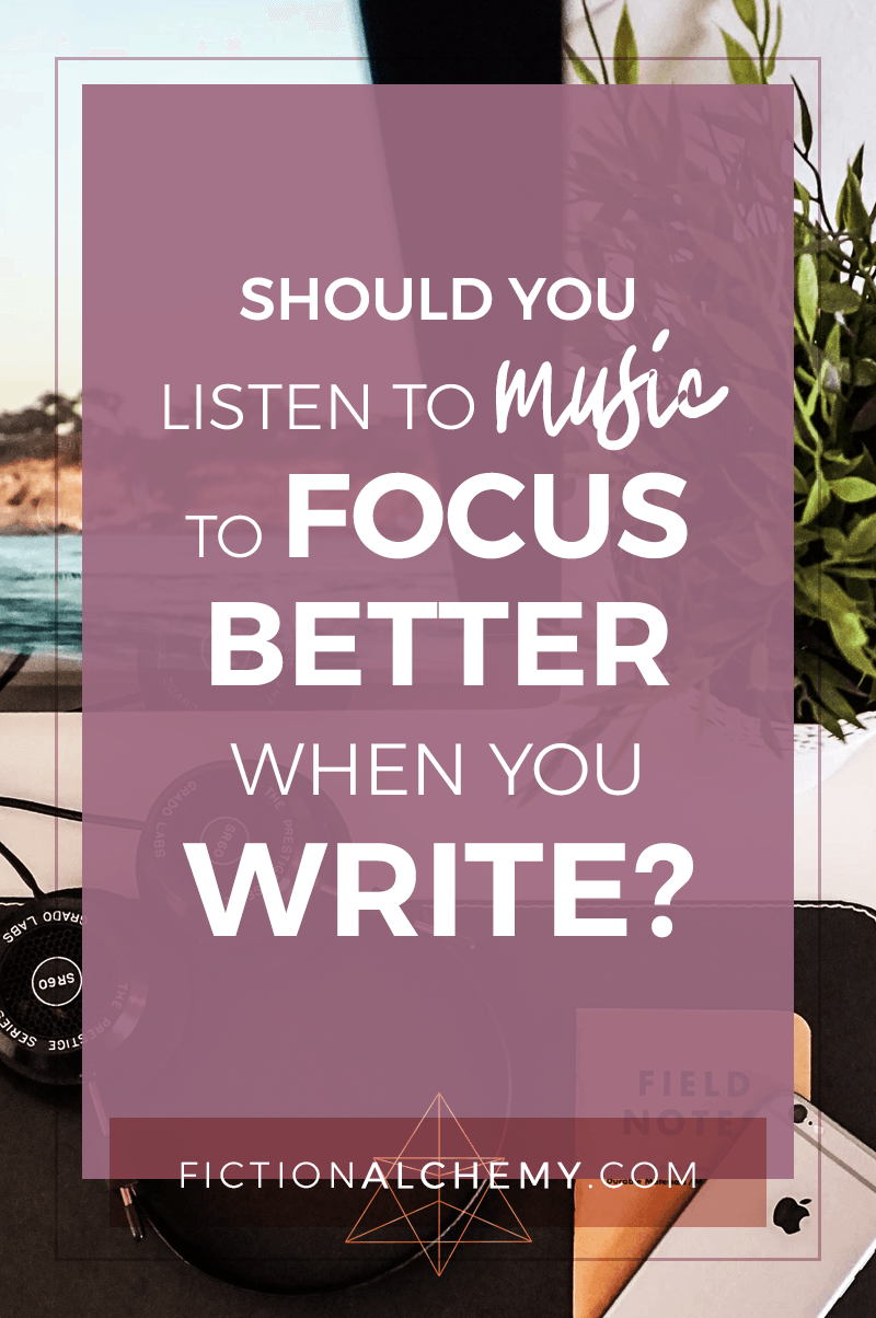 Total silence or a killer writing playlist? There are 2 camps to the debate, but what does science say? Will music help you focus on your writing better?