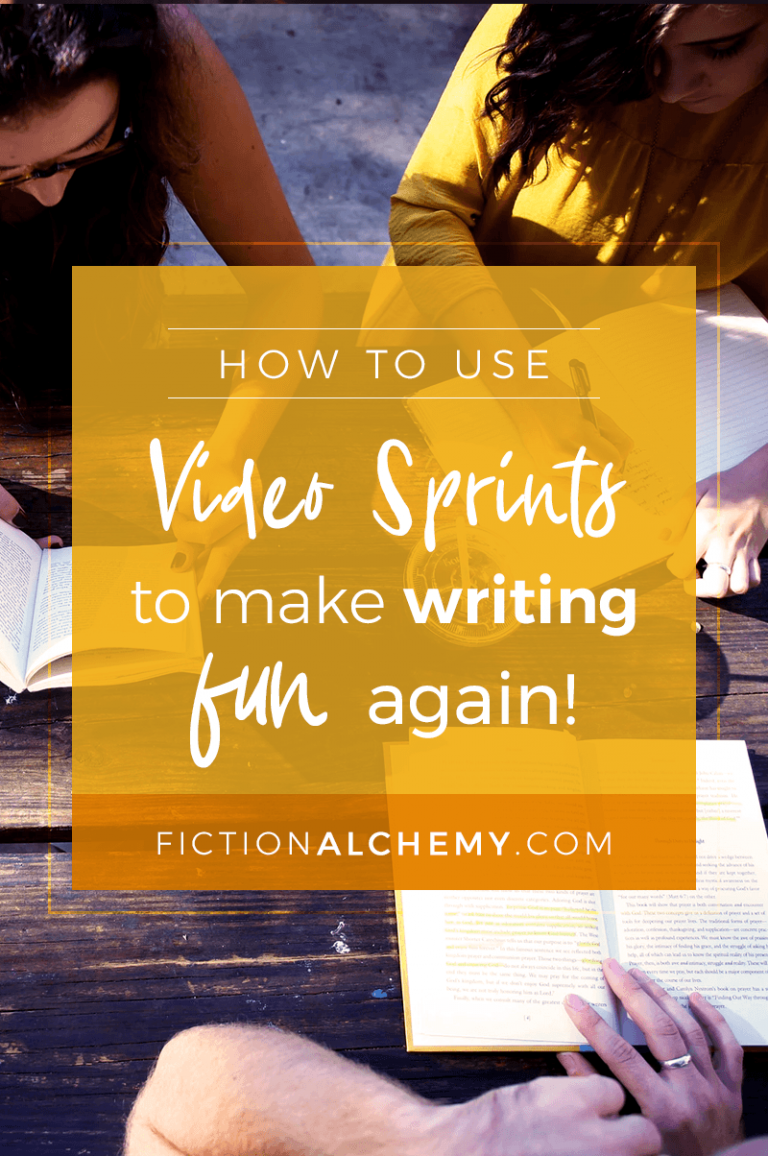 Are all your great novel ideas going to waste because writing has lost its excitement? Video sprints can help you make writing fun again. Here's how!