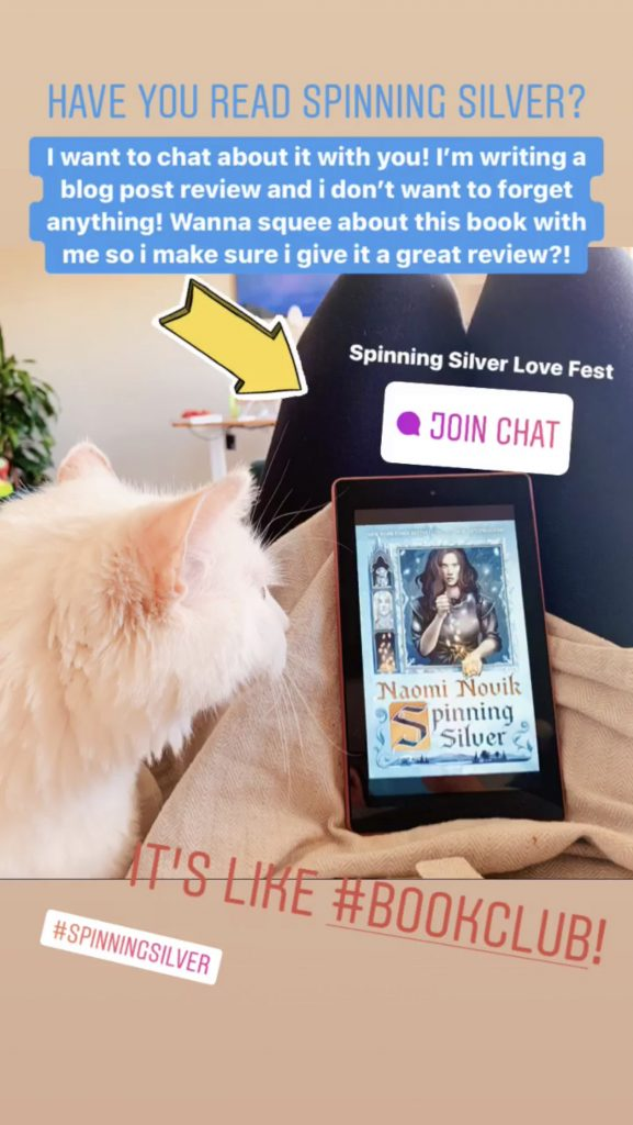 Spinning Silver Instagram Bookclub Chats | FictionAlchemy