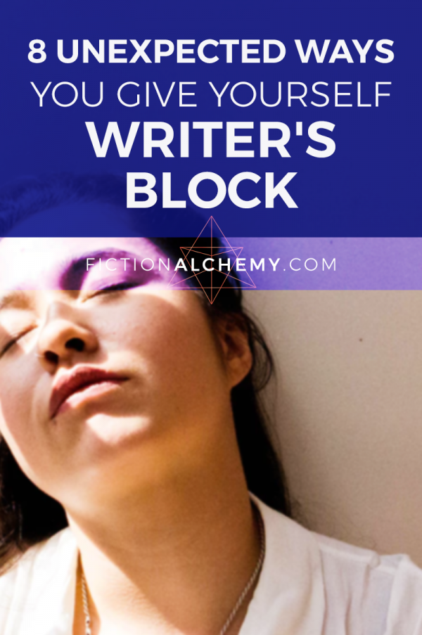 How do you get Writer's Block? It's almost always a correctable problem, but to correct Writer's Block, you need to know what's causing it first.