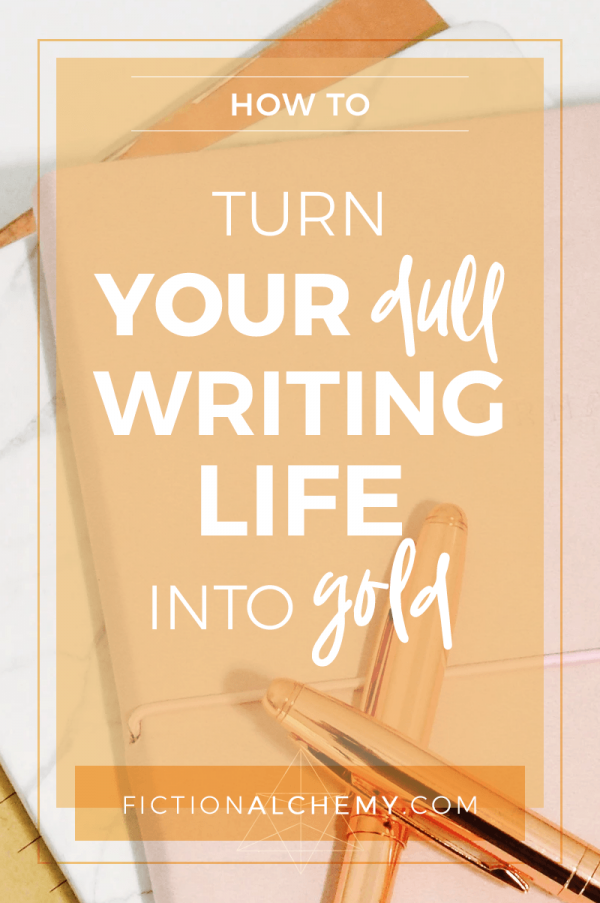 There's a reason you haven't finished (or maybe even started on!) your novel yet. If it's one of these reasons, I've got some great news for you. Fiction Alchemy is a brand new way to think about writing.